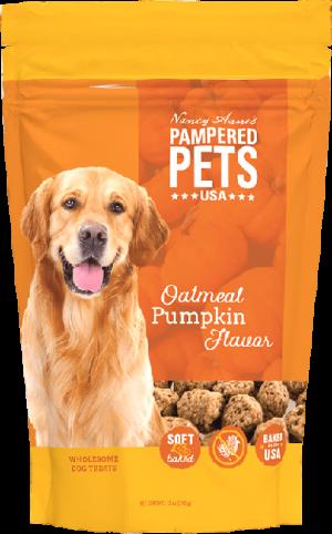 Oatmeal & Pumpkin Flavor Soft Baked Treats