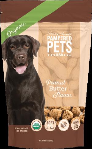 Organic Peanut Butter Flavor Soft Baked Treats